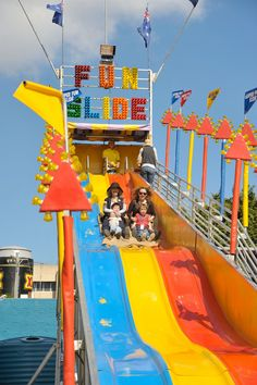 The name says it all. FUN SLIDE
