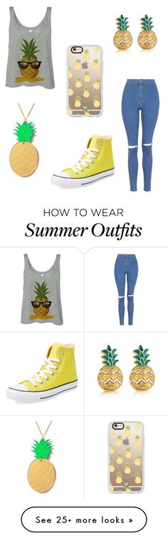 """"""""""" by xallypandax on Polyvore featuring MBLife.com, Lee Renee, Casetify, Topshop and Converse"""