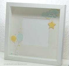 Stampin' UP! - Baby - Rahmen - Frame - Ribba - Balloon Celebration
