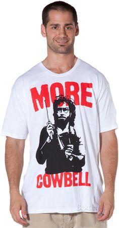 SNL More Cowbell Shirt