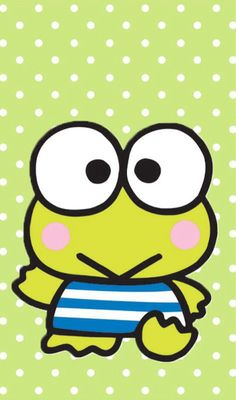 Keroppi...my ultimate favorite character! Thanks to my Filipinos friends of high school I'm in LOVE with this cutie frog ;)