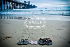 Maternity Photography Idea ... Perfect photo for this family who's newborns room is nautical themed! Alicen R Photography