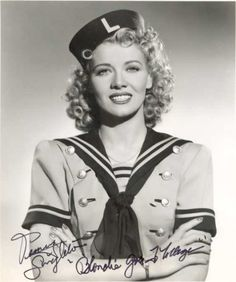 Penny SINGLETON (1908-2003) * AFI Top Actress nominee > Active 1925–90 > Born Marianna Dorothy Agnes Letitia McNulty 15 Sept 1908 Pennsylvania > Died 12 Nov 2003 (aged 95) California, respiratory failure > Spouses: Dr. Laurence Scogga Singleton (1937–39 div); Robert Sparks (1941–63, his death) > Children: 2