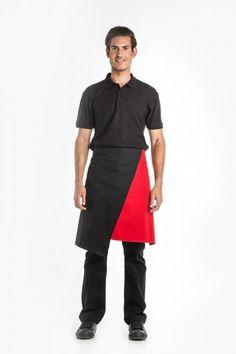 1e73d40ee6 Aris Uniforms UA47 Asymmetrical Waist Apron Restaurant Uniforms, Waist  Apron, Aprons, Normcore,