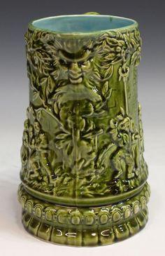 Antique Pottery Salt Glaze Pitcher