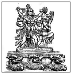 Navratri Images, Ganesh Idol, Durga Maa, Hindu Art, Art Sketches, Religion, Indian, Sculpture, Statue
