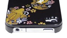 Black Goldfish Circle for iPhone4/4S