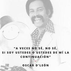 Oscar D'León canta para celebrar la paternidad.  Encuentra más canciones para papá en www.blog.disenia.mx