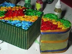 Watch how to make a Jewellery Box by using waste material. its very easy, just see and learn it by watching this video interestingly. Here we are using a was...
