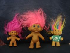 Troll dolls. Looking back, I can't believe they were as popular as they were.