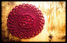 crochet coaster by Lady Lorien Designs