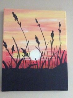 Sunset by PaintingsbyTeri on Etsy