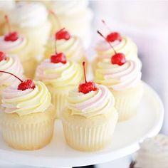Sweet (pink lemonade cupcake) dreams!  #SweetBakeShop #Cupcakes