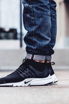 Nike Air Presto Flyknit Grau