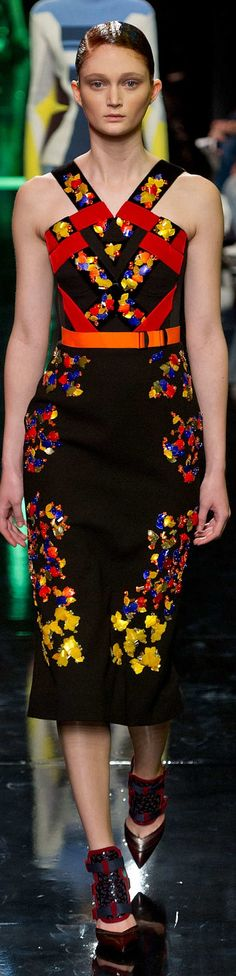 Peter Pilotto Collection Fall 2014 Ready To Wear