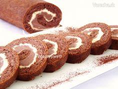 Kakaová roláda (fotorecept) - Recept