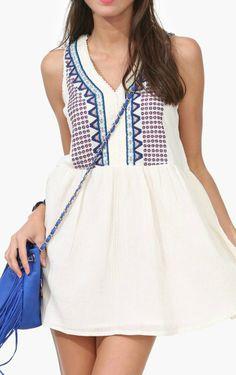 Claire tunic dress