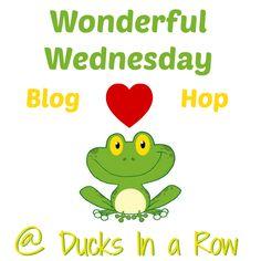 Wonderful Wednesdays Blog Hop, Week 8 #linky - The Ultimate Linky