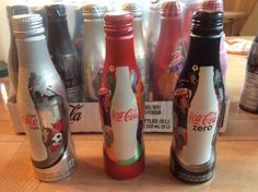 2015 FIFA World Cup Coca-Cola Bottles-Excellent Straight From Packaging #coke