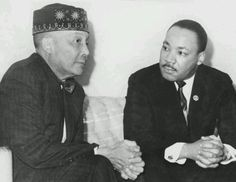 The Honorable Elijah Muhammad and Reverend Doctor Martin Luther King Jr. Martin Luther King, Elijah Muhammad, Muhammad Ali, My Black Is Beautiful, Simply Beautiful, Beautiful Images, Influential People, King Jr, Black History Month