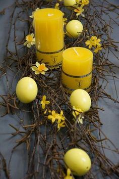 Inspiration for Easter Easter Table, Easter Eggs, Easter Crafts, Holiday Crafts, Deco Floral, Diy Easter Decorations, Easter Candy, Easter Holidays, Deco Table