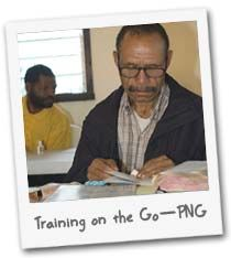TRAINING ON THE GO - If you can't bring pastors to Bible college, then bring the Bible college to the pastors! The rural pastors of Papua New Guinea can't leave their congregations to go study, so raise funds to bring cutting-edge mobile training programs to these pastors. $95 per person enables one pastor or church worker to attend a wide range of Bible and ministry training classes right in their home area!