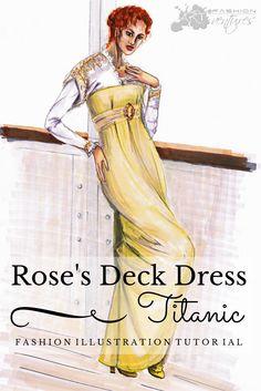 Deck Dress Titanic by Michaela Koleva | Fashion ARTventures