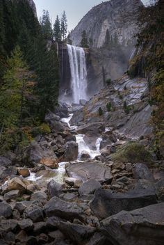Vernal Fall - Yosemite National Park - I've hiked this!