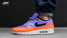 Nike Air Max 1 FB Premium QS *Mercurial Pack* (Atomic Violet / Black - Total Orange) #nike #airmax #asphaltgold #sneaker