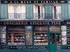 À la Mère de Famille, the oldest chocolate factory in Paris Chocolate Shop, Chocolate Factory, Best Chocolate, Montmartre Paris, Paris Paris, Paris City, Merida, Shopping In Paris France, Fauchon Paris