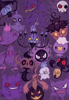 Ghosties by DrawKill on DeviantArt