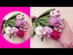 Textil tulipán varrása » Hobbibol.com