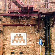 Manchester street art guide: the Northern Quarter and beyond! Manchester Street, French Street, Space Invaders, Street Artists, Mosaic, Neon Signs, Photoshoot, Beautiful, Travel