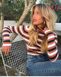Fall vibes 💋🍂 - Hair - Beauty Tips and Tricks Mode Outfits, Fashion Outfits, Ootd Fashion, Fashion Women, Fashion Black, Fashion Ideas, Grunge Hair, Mode Inspiration, Hair Looks