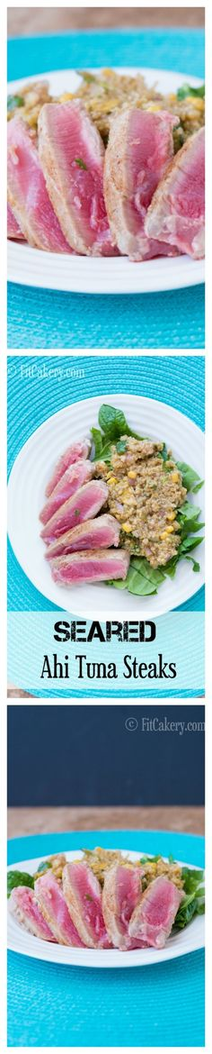 Seared Ahi Tuna Stea