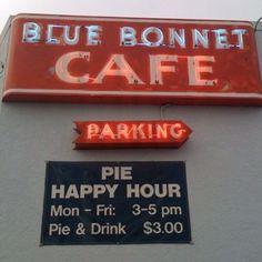 Pie Happy Hour! Wonder if they also have gravy happy hour?!