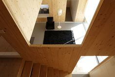 Cross Laminated Timber interior walls - G house / Lode Architecture