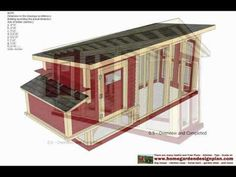 - Chicken Coop Plans Construction - Chicken Coop Design - How To Build A Chicken Coop It can comfortably hold 18 chickens .