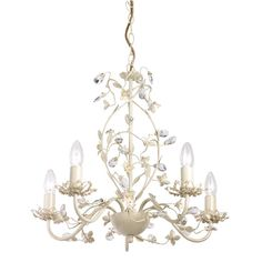 Lullaby Cream And Gold Painted 5 Light Chandelier by Oaks Lighting. Discover our ranges of Tiffany Lamp, Art Deco and Traditional Lighting , free delivery. Acrylic Chandelier, 3 Light Chandelier, Antique Chandelier, Chandeliers, Ceiling Pendant, Pendant Lighting, Light Pendant, Gold Ceiling, Gold Pendant
