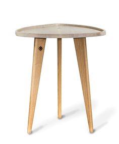 "Oak Table ""TRIPOD"", Sofa Table, Wood Working"