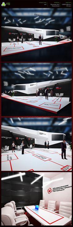 UEC exhibition booth design on Behance