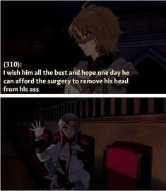 no seraph of the end funny Mika & Ferid Cartoon Shows, Anime Shows, Seraph Of The End, Owari No Seraph, Boy Pictures, Vampire Knight, Weird Creatures, Blue Exorcist, Noragami