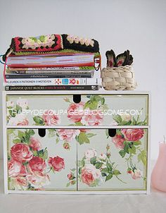 Ikea Fira customised | Happy Decoupage