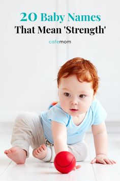 20 Baby Names That Mean 'Strength': For some babies, the first few days, months or even years are anything but easy — and still they grow up brave, curious, and strong. Here are that mean and convey strength. Baby Names And Meanings, Names With Meaning, Strong Baby Girl Names, Unusual Boy Names, Kids Stage, Cute Nicknames, African Babies, Modern Names, Children Photography