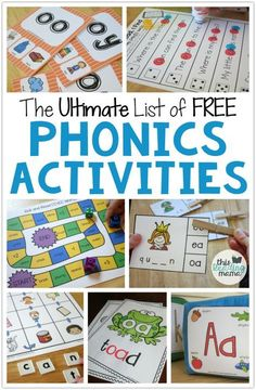Are you looking for some FREE Phonics Activities? Well, you've come to the right place!! Today in our Struggling Reader Series, I'm sharing TONSof links to free phonics activities. Don't get stressed out looking at the entire list. We'll talk really quick about how to narrow down what phonics skills your learner needs to work …
