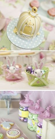 Lots of gorgeous Easter inspiration from Little Big Company and Lily Chic Events.