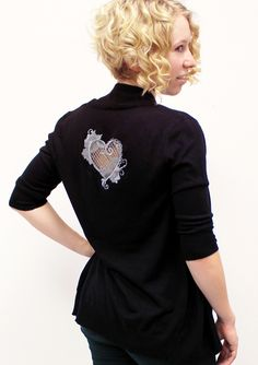 Tutorials | Urban Threads: Add a dramatic touch to your wardrobe by stitching this elegant cutwork heart!