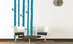 Farbeffekte mit Wandtattoos