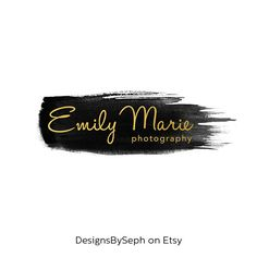Pre-made Logo Design & Photography Watermark by DesignsBySeph