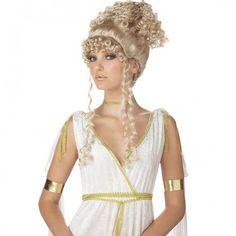 Womens Athenian Goddess Wig